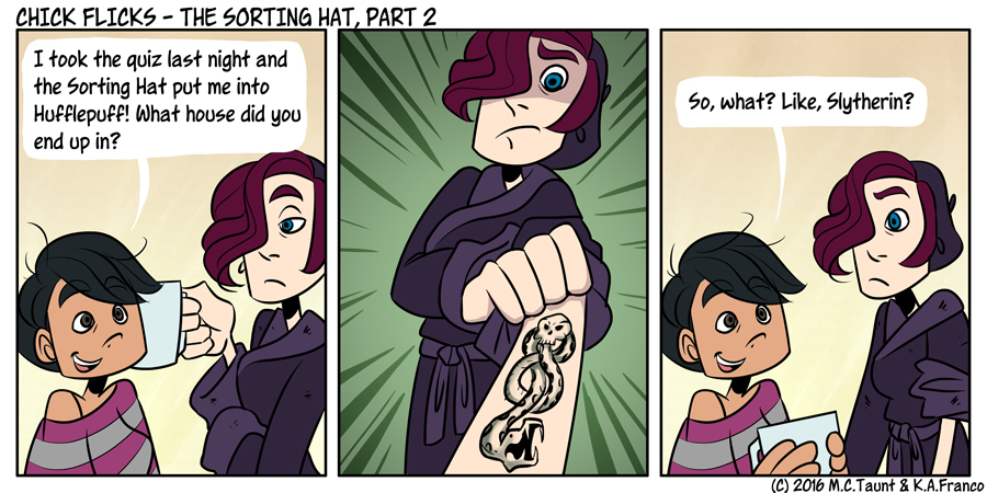 The Sorting Hat, Part 2
