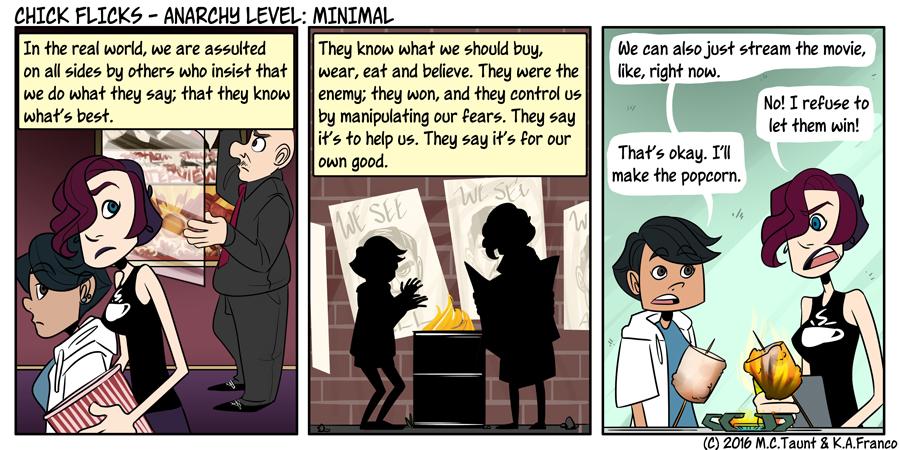 Anarchy Level: Minimal